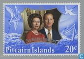 La Reine Elizabeth II-mariage anniversaire