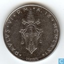Vatican lire 50 1971