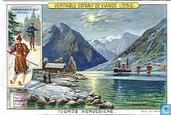 Norwegische Fjordlandschaften