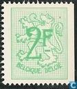 Digit on heraldic lion