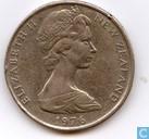 New Zealand 50 cents 1976