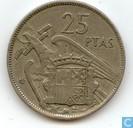 Espagne 25 pesetas 1964