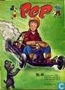 Comics - Bob Spaak op zijn sport praatstoel - Pep 44