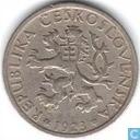 Tchécoslovaquie 1 koruna 1923