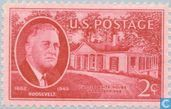 Décès du président Roosevelt