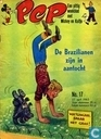 Strips - Bob Spaak op zijn sport praatstoel - Pep 17