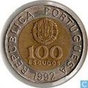 Portugal 100 escudos 1992