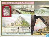 Bilder von Frankreichs Küsten