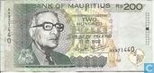 Maurice 200 roupies
