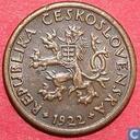 Tchécoslovaquie 10 haleru 1922
