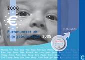 """Netherlands year set 2008 """"Babyset"""" (boy)"""