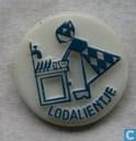 Lodalientje (bij aanrecht) [blauw]