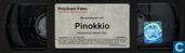DVD / Video / Blu-ray - VHS video tape - De avonturen van Pinokkio