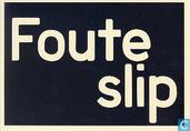 "B080243 - Fairtrade / Max Havelaar ""Foute Slip"""