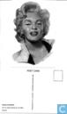 Marilyn Monroe, postcard