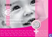 """Netherlands year set 2008 """"Babyset"""" (girl)"""