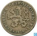 Tchécoslovaquie 5 haleru 1929