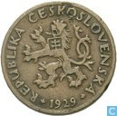 Czechoslovakia 5 haleru 1929