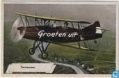 Fokker S-IX Groeten uit Terneuzen (bewerkte foto)