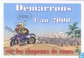 Batem nieuwjaarskaart 2000