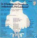 De 10 liedjes van het Dierenbosse Liedjesfestival Het Landjuweel