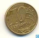 Brasilien 10 Centavo 2006