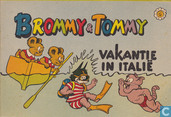 Comics - Brommy & Tommy - Vakantie in Italië