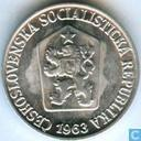 Czechoslovakia 3 halere 1963