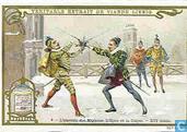 tweegevechten; zwaard, degen, dueleren