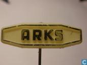 Arks [goud op wit]