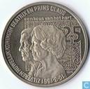 """Penningen / medailles - ECU penningen - Nederland 2½ ecu 1991 """"Zilveren Huwelijk Beatrix en Claus"""""""