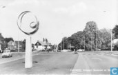 Enschede, Kruispunt Boulevard en Singels