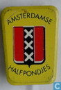 Amsterdamse halfpondjes [geel]
