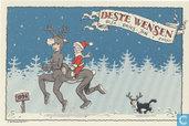 Jan Bosschaert Nieuwjaarskaart 1994