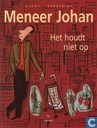 Comic Books - Meneer Johan - Het houdt niet op