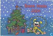 Batem Nieuwjaarskaart 2004