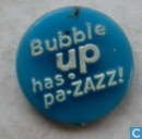 Bubble Up has pa zazz ! (round) [blue]