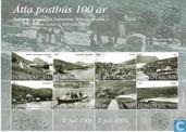 100 années postiers des îles Féroé