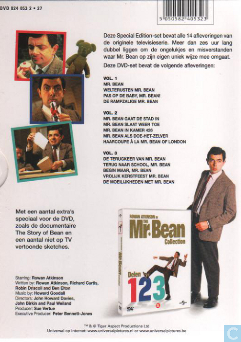 The Mr Bean Collection Dvd Catawiki