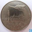 Thailand 5 baht 1987 (jaar 2530)