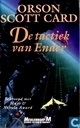 Boeken - Ender-Cyclus - De tactiek van Ender