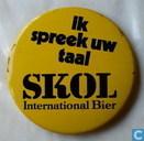 SKOL International Bier Ik spreek uw taal