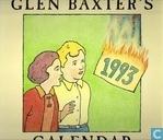 Glen Baxter's 1993 calendar