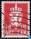 Postzegels - Noorwegen - 1975  OFF. SAK II 150