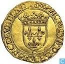 Frankrijk gouden écu 1541