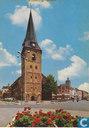 Enschede  Markt met Ned. Herv. Kerk