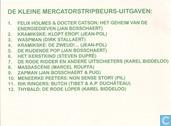 Comic Books - Meneerke Peeters - Non Sense Story