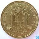 Spain 1 peseta 1975 (1978 - large tilde)