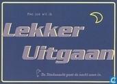 """B001854 - De Stadswacht, Haarlem """"Met jou wil ik Lekker Uitgaan"""""""
