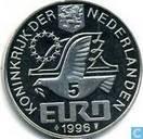 """Nederland 5 Euro 1996 """"Willem Barentsz"""""""